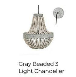 New Beaded Chandelier (2) Kirkland Brand for Sale in Turlock,  CA
