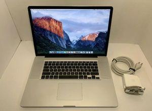 """Macbook Pro 17"""" Laptop for Sale in Atlanta, GA"""