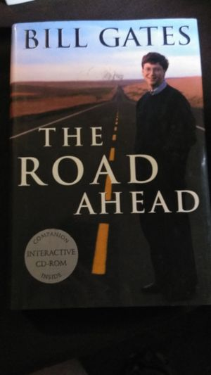 """BILL GATES """"THE ROAD AHEAD"""" 1ST EDITION HARDCOVER BOOK, RARE, GREAT CONDITION! for Sale in Las Vegas, NV"""