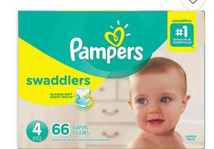 Brand new Pamper Swaddler Diapers Size 4 Box for Sale in Portland, OR