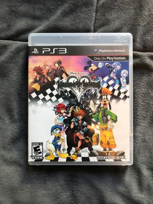 Kingdom hearts 1.5 remix PS3 for Sale in Pinellas Park, FL