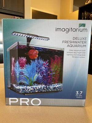 Imagination 3.7 gallon Aquarium for Sale in Silver Spring, MD
