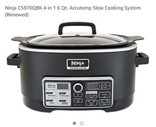 Ninja crock pot for Sale in Blackwood,  NJ