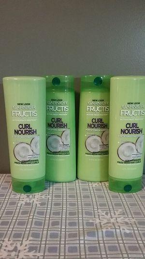 Garnier Fructis curl nourish shampoo and conditioner for Sale in Attleboro, MA