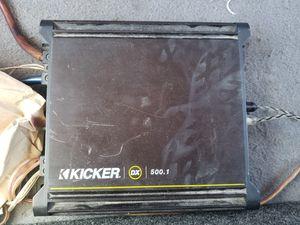 Kicker amp for Sale in Phoenix, AZ