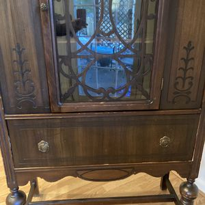 China Closet 1950's To Hold You RTreasures And Has Drawer To Hold Tablecloths! for Sale in Arlington, VA