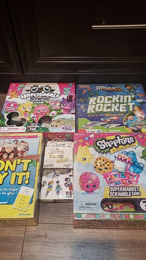 Kids games used condition for Sale in Garden Grove, CA