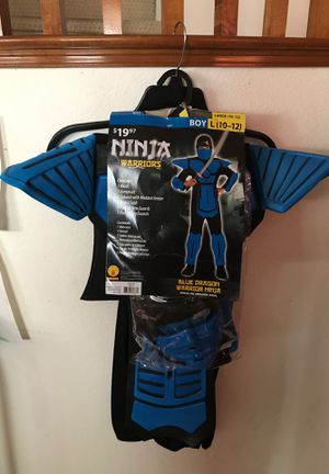 Blue Ninja Halloween costume. Boys 10-12 for Sale in Chula Vista, CA