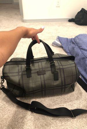 Coach collapsible duffel bag for Sale in Phoenix, AZ
