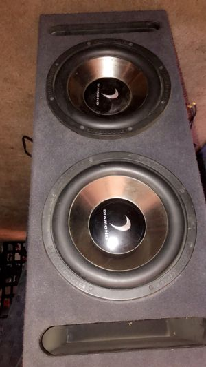 2 12 speakers and a stereo only asking 180$ for Sale in Bakersfield, CA