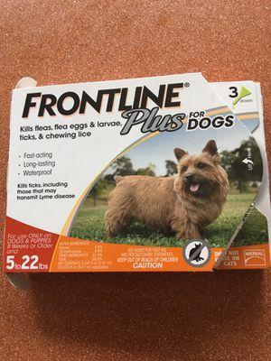 Frontline plus for dogs for Sale in Virginia Beach, VA