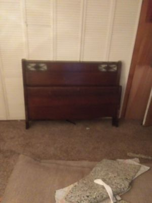 Full size bed frame 54 in wide for Sale in Concord, VA