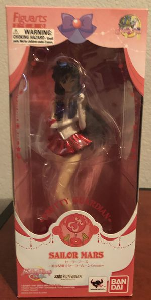 Tamashii Nations Sailor Moon Crystal Pretty Guardian Sailor Mars Figure for Sale in Valley Home, CA