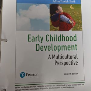 Early Childhood Development 7th Edition By Jeffrey Trawick-Smith for Sale in Albuquerque, NM