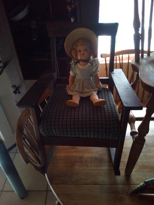 Antique child's (Stickley looking) rocking chair for Sale in Las Vegas, NV