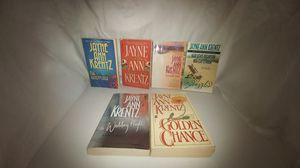 Lot of 6 Jayne Ann Krentz books The Wedding Night/To Tame the Hunter/The Golden Chance/Bedazzled/The Adventurer/Hidden Talents for Sale in La Habra Heights, CA