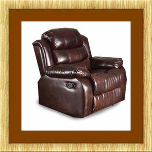 Burgundy recliner chair free delivery for Sale in Ashburn, VA
