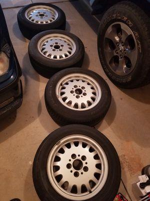 OEM BMW FACTORY WHEELS....15×7 OFFSET 47 for Sale in Greer, SC