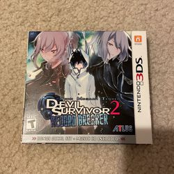 Devil Survivor 2 Record Breaker Nintendo 3DS for Sale in Auburn,  WA