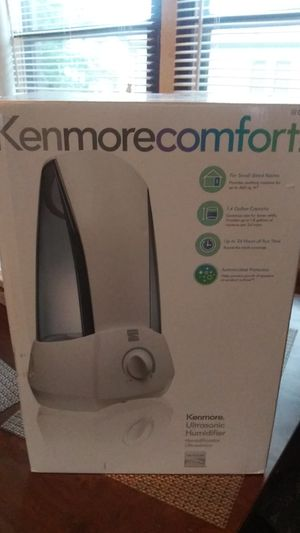 Gently Used Kenmore Comfort Ultrasonic Humidifier for Sale in Utica, MI