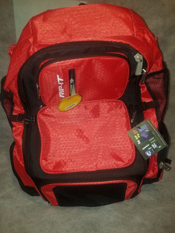New!! Rip-It Pack It Up Softball/Baseball Backpack Condition is New with tags.