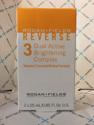 Rodan & Fields Reverse Dual Active Brightening Complex for Sale in Irving, TX