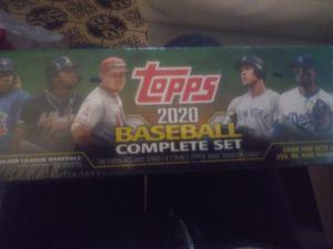 Unopened tops baseball cards complete set 40 for Sale in Portland, OR