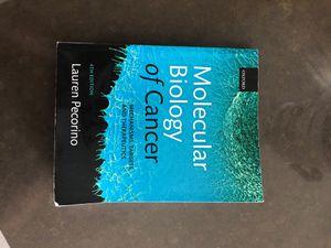 Molecular Biology of Cancer for Sale in Somerville, MA