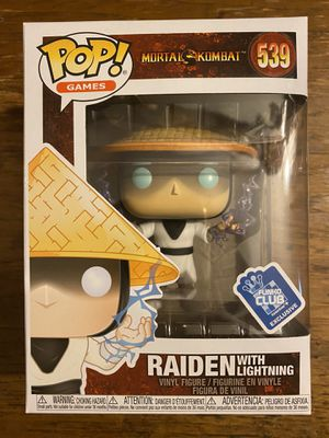 Raiden funko pop mortal kombat for Sale in San Jose, CA