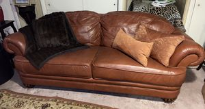 Leather sofa set for Sale in Baltimore, MD