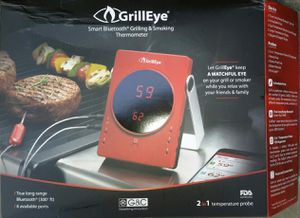 BBQ thermometer Grill Eye Bluetooth thermometer for Sale in Colton, CA