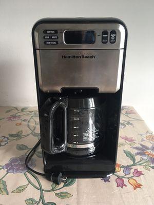 Hamilton Beach 12-Cup Digital Coffee Maker, Stainless Steel for Sale in Alexandria, VA