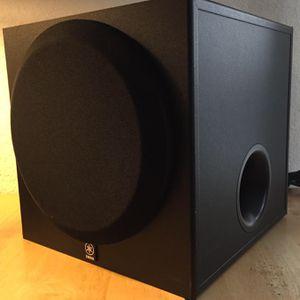 Yamaha 4 Speakers & Subwoofer for Sale in Las Vegas, NV