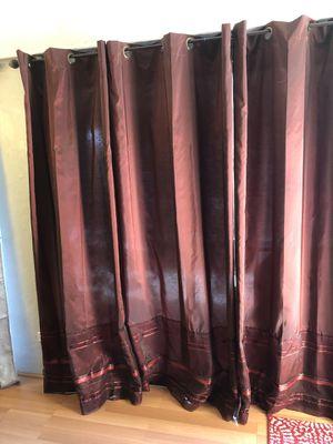 "Curtains burgundy merlot 84"" for Sale in Orlando, FL"