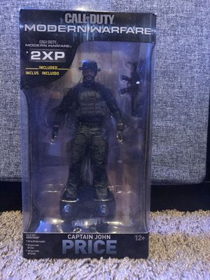 Captain John Price Call of Duty 2x XP 7 inch Figurine for Sale in Fresno, CA