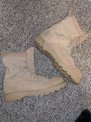 Size9 wide Bates Army issued winter combat boots for Sale in Auburn, WA
