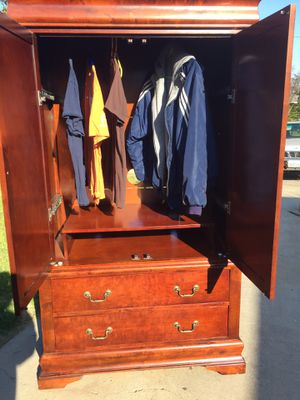 Big Armoire come with two big drawers you can use it for closed or for TV. for Sale in Fresno, CA