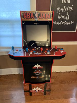 NBA Jams Arcade Game with Riser for Sale in Cranbury, NJ