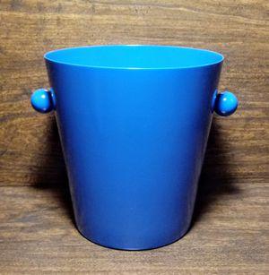 "Decorative Small Bucket Blue Powder Coat Finish 5 3/8"" for Sale in Montezuma, OH"
