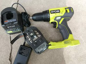 DRILL RYOBI BATTERY AND CHARGER INCLUDED for Sale in Phoenix, AZ