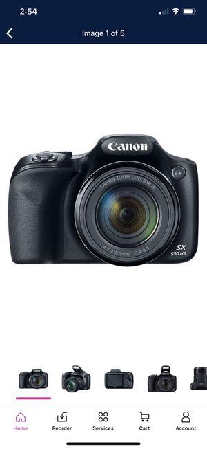 Canon SX530 PowerShot SX530 16MP 50x Zoom Digital Camera for Sale in Bakersfield, CA