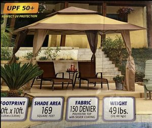 Brand New 13x13 Instant Gazebo Canopy Tent for outdoors, patio, yard for Sale in ROWLAND HGHTS, CA