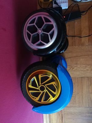 2 used hoverboards in great working condition. for Sale in Queens, NY