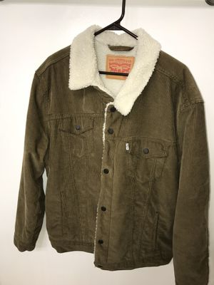 XXL Brown Levi's Sherpa Lined Jacket for Sale in Los Angeles, CA