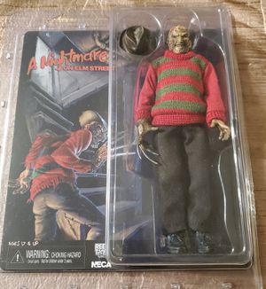 NECA Nightmare Elm Street pt 1 FREDDY KRUEGER retro cloth ORIGINAL action figure for Sale in Los Angeles, CA