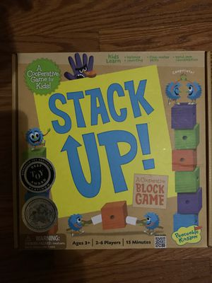 Stack Up board game for Sale in Tampa, FL