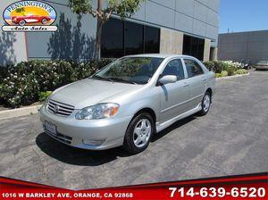2003 Toyota Corolla for Sale in Orange, CA