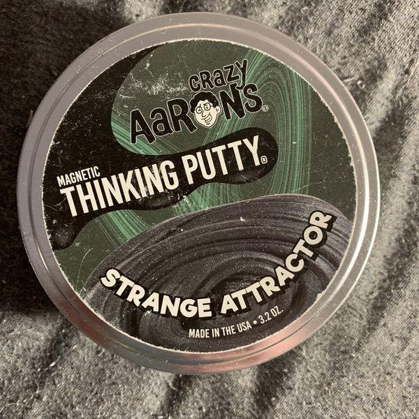 "Aarons Thinking Putty ""Strange Attractor"""