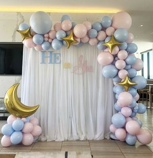 Balloon garland /backdrop/ pedestal/ donut stands for Sale in Adelanto, CA