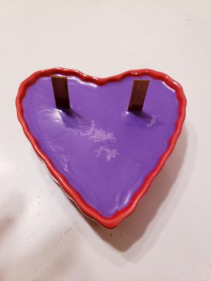 Valentine Candle - Levender scented for Sale in Beulah, MI